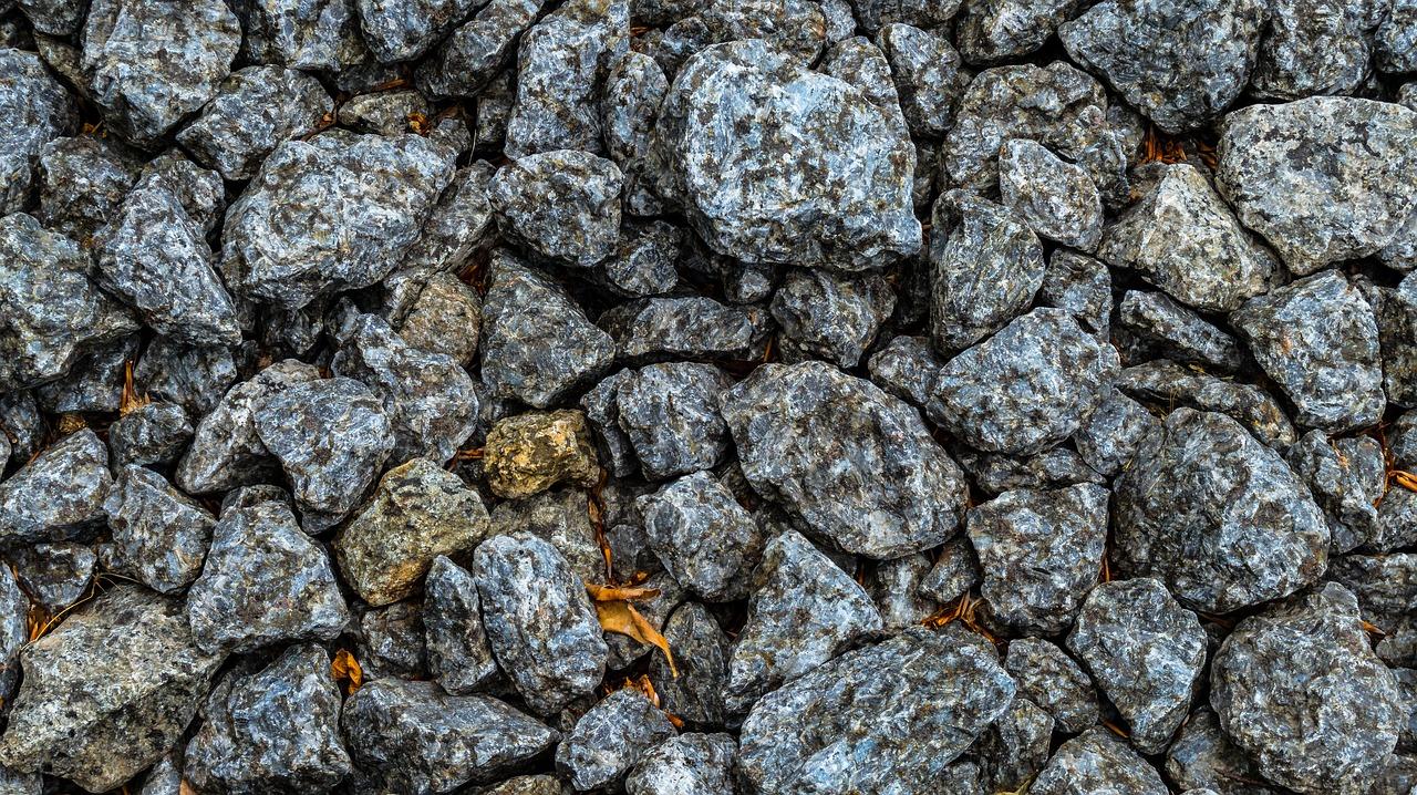 Benne à pierres